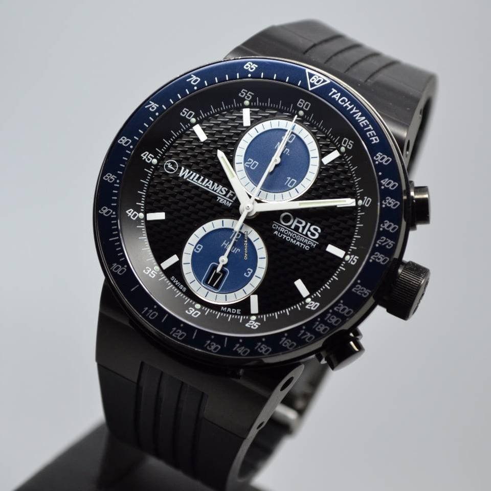 Oris Williams F1 Team Chronograph 2004 Black PVD Limited Edition