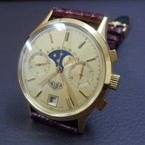 TAG Heuer Or jaune Remontage manuel Or Sans chiffres 36mm occasion