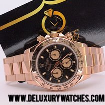 Rolex Daytona 116505 Rose Gold Black 2011 Like Neew Just Serviced