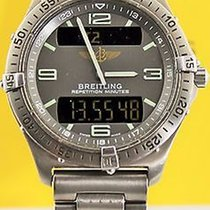 Breitling Aerospace Digital Titanium E65062 Multi Function...