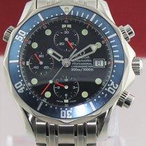 Omega Seamaster 2599.80 Large Blue Chronograph Automatic Mens...