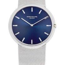 Patek Philippe , White Gold Bracelet Watch, Calatrava, Ref...
