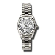 Rolex Lady-Datejust White gold 26mm Mother of pearl Roman numerals United States of America, Pennsylvania, Holland