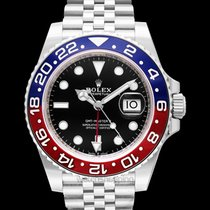 Rolex GMT-Master II Black Steel 40mm - 126710blro