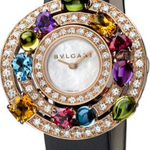 Bulgari Rose gold 36mm Quartz 102011 new
