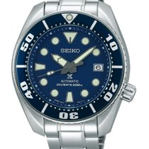 Seiko Prospex SBDC033J SEIKO PROSPEX  Automatico Diver 200 Acciaio-blu 45 new
