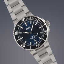 Oris Aquis Divers stainless steel automatic watch