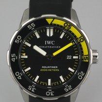IWC Aquatimer Automatic 2000 Otel 44mm Negru Fara cifre