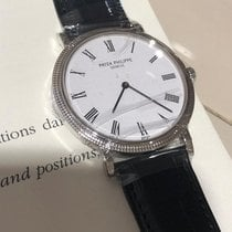 Patek Philippe Calatrava White Gold NEW