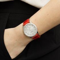 Hermès Slim d'Hermès Stahl 40mm Silber Arabisch