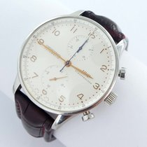 IWC Portuguese Chronograph 3714 Good Steel 41mm Automatic