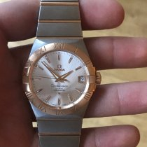 Omega Constellation Men Goud/Staal 38mm Zilver Nederland, Rotterfam