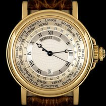 Breguet Marine Yellow gold 38mm Silver Roman numerals United Kingdom, London
