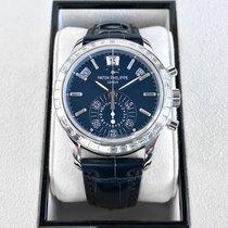 Patek Philippe Annual Calendar Chronograph Platine 40,5mm Bleu