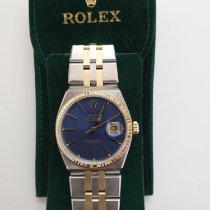 Rolex Datejust Oysterquartz Goud/Staal 36mm Blauw Geen cijfers Nederland, Opmeer