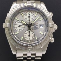 Breitling Crosswind Racing 43mm Plata Sin cifras