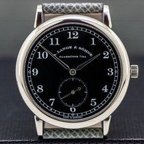 A. Lange & Söhne White gold Manual winding Black Arabic numerals 36mm pre-owned 1815