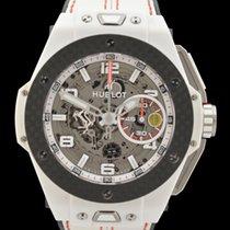 Hublot Big Bang Ferrari gebraucht 48mm Chronograph Datum Kautschuk