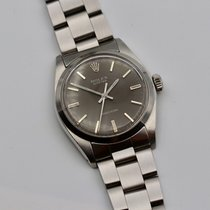 Rolex Oyster Precision Acero 34mm Gris Sin cifras