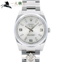 Rolex Oyster Perpetual 34 Stål 34mm Silver