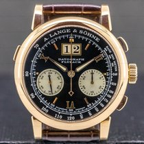 A. Lange & Söhne Rose gold Manual winding 39mm pre-owned Datograph