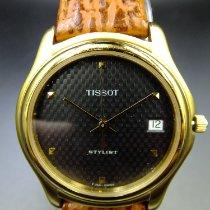 Tissot Stylist Gold/Stahl 36mm Grau Keine Ziffern Deutschland, Billerbeck