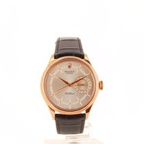 Rolex Cellini Date Rose gold 39mm White No numerals