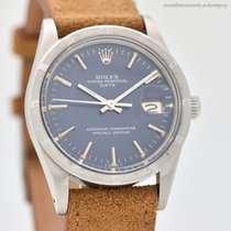Rolex Oyster Perpetual Date Steel 35mm Blue No numerals United States of America, California, Beverly Hills