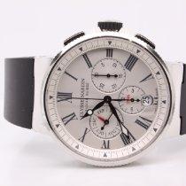 Ulysse Nardin Marine Chronograph Acero 43mm Blanco