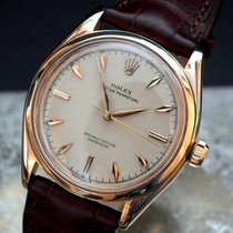 Rolex Oyster Perpetual Rose gold 34mm Champagne