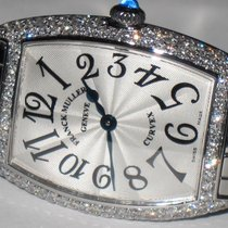 Franck Muller Cintrée Curvex Steel 25mm Silver Arabic numerals United States of America, New York, NEW YORK CITY