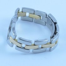 Baume & Mercier Linea Stahl/gold Armband 16mm Top Zustand