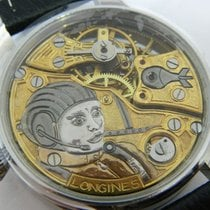 Longines - aircraft skeleton dial -marriage watch - ca 1920