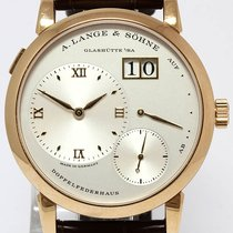 A. Lange & Söhne Red gold Manual winding 38.5mm pre-owned Lange 1