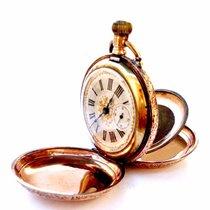 Anonymous Antique Pocket Watch Hunter Art Nouveau 1890c Gold ...