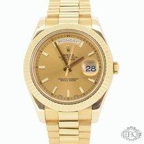 Rolex Day-Date II | Yellow Gold President Bracelet | 2014 |...