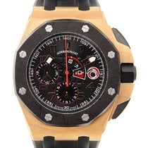 Audemars Piguet Royal Oak Offshore 18k Rose Gold Black...