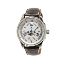 Longines Master Collection L2.739.4.71.3 Longines MASTER Acciaio Argento Pelle 44mm 2020 new