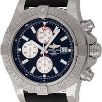 Breitling : Super Avenger II Chronograph :  A13371 :  Stainles...