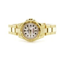 Rolex Yacht-Master Yellow gold 29mm White No numerals