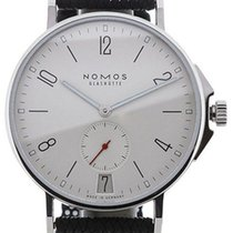 NOMOS Ahoi Datum Steel 40mm White