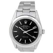 Rolex Air King Precision Steel 34mm Black No numerals United States of America, California, Los Angeles