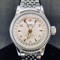 Oris Classic Steel 28mm White Arabic numerals