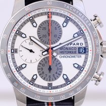 Chopard Grand Prix de Monaco Historique Сталь 44.5mm Белый Без цифр