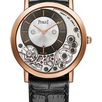 Piaget Rose gold Manual winding Grey No numerals 38mm new Altiplano