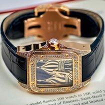 Cartier Santos 100 Жёлтое золото