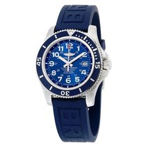 Breitling Superocean II 44 Steel 44mm Blue Arabic numerals United States of America, New York, New York