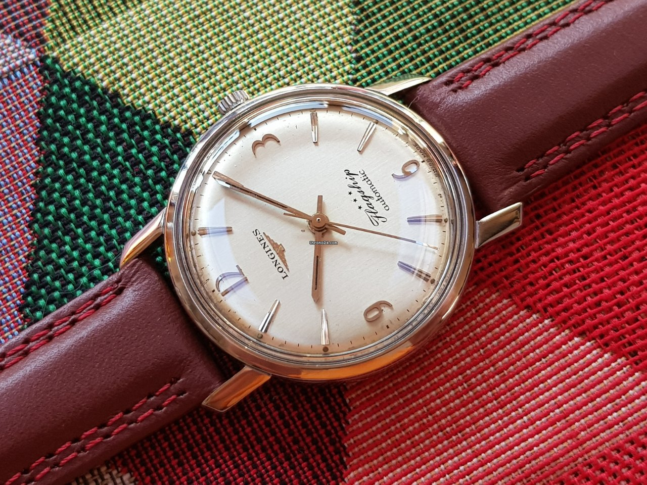 ffcc8366322 Longines Flagship Automatic with Archives Extract - cal 340... por 620 €  para vender por um Trusted Seller na Chrono24