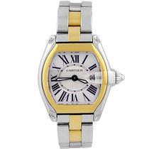 Cartier Roadster pre-owned 32mm Gold/Steel
