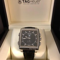 TAG Heuer Kronograf 41mm Automatisk 2006 ny Monaco (Submodel) Sort